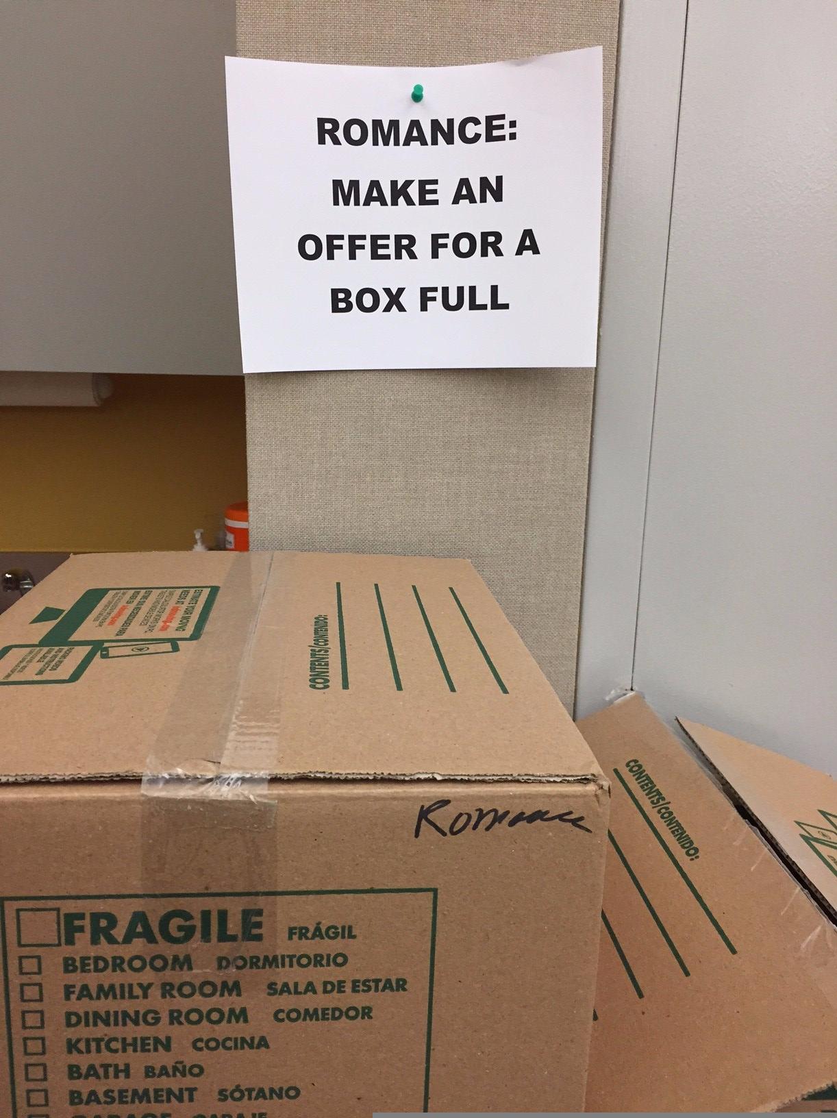 Book sale box