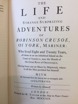 Crusoe real title