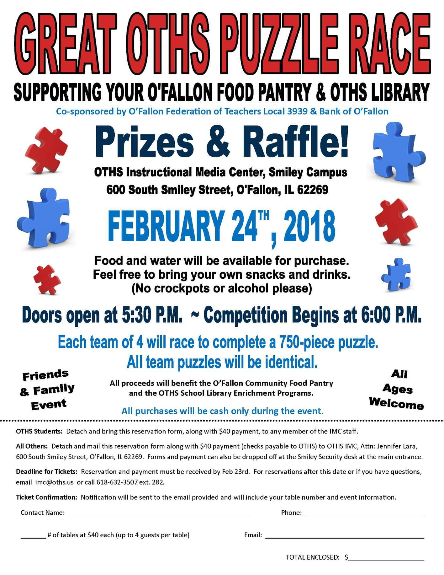 Calling Puzzle Pros and Wannbes: Support the O'Fallon Food