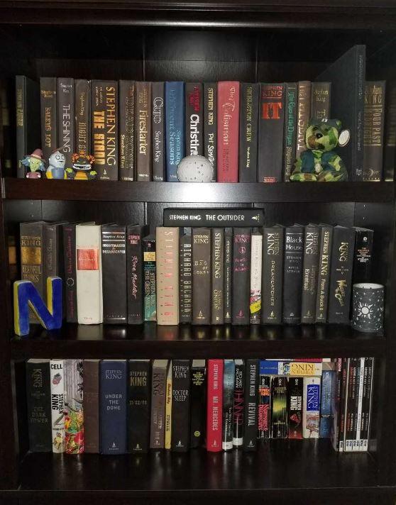 Amy's bookcase